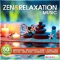 Compilation Zen & relaxation music (50 tracks for meditation, relaxation, sleep, yoga, spa, taï-chi, feng-shui, massage, anti-stress) avec Sons Naturels / Relaxation Big Band / Ô Spa / Limborg / Grare...