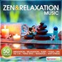 Compilation Zen & relaxation music (50 tracks for meditation, relaxation, sleep, yoga, spa, taï-chi, feng-shui, massage, anti-stress) avec Jérôme Hameau / Relaxation Big Band / Ô Spa / Limborg / Grare...