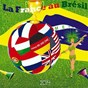 Compilation La france au brésil avec Coco Briaval / Brazil One & One / The Sinfonietta Orchestra / The Brazilian Sinfonietta / The Brazilian Brass Band...