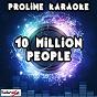 Album 10 million people (karaoke version) (originally performed by example) de Proline Karaoke