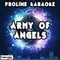 Album Army of angels (karaoke version) (originally performed by the script) de Proline Karaoke