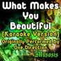 Album What makes you beautiful (karaoke version) (originally performed by one direction) de Musosis