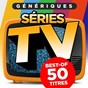 Compilation Génériques séries TV (best-of 50 titres) avec The Hollywood Prime Time Orchestra / Bernard Minet / Bernard Denimal / Cyber Orchestra / Bob Simister...
