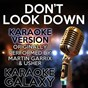 Album Don't look down (karaoke version) (originally performed by martin garrix & usher) de Karaoke Galaxy