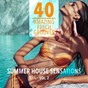 Compilation Summer house sensations, vol. 2 - 40 amazing beach grooves avec New York Lovers / Alexander Prada / Tim Parker / Urban Mind / Madera...