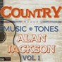 Album Country music tones - alan jackson vol 1 de DJ Mixmasters