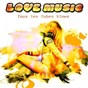 Compilation Love music (tous les tubes slows) avec Raze / Adrian Gurvitz / 10 CC / The Korgis / Ray Charles, Dee Dee Bridgewater...