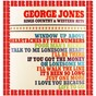 Album Sings country & western hits (bonus track version) de George Jones