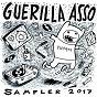 Compilation Guerilla asso sampler 2017 avec Diego Pallavas / Guerilla Poubelle, Arms Aloft / Ghost On Tape / Brutal Chérie / Union Jack...
