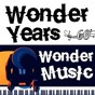 Compilation Wonder years, wonder music 60 avec Bing Crosby & the les Paul Trio / Danny & the Juniors / The Four Seasons / Joe Dowell / The Marvelettes...
