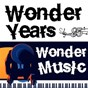 Compilation Wonder years, wonder music 85 avec The Beatles / Stevie Wonder / The Yardbirds / Aretha Franklin / The Clovers...