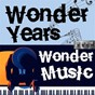 Compilation Wonder years, wonder music. 101 avec Adam Faith & the Roulettes / Domenico Modugno / Aretha Franklin / Ray Charles / Françoise Hardy...