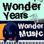 Compilation Wonder years, wonder music. 133 avec Azur Chami / Chubby Checker / Aretha Franklin / Guy Lombardo / The Royal Canadians...