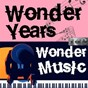 Compilation Wonder years, wonder music. 142 avec Lucienne Boyer / Ray Charles / Dave Brubeck / Margaret Whiting & Jimmy Wakely / Louis Armstrong & His Hot Five & Sevens...