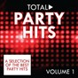 Compilation Total party hits, vol. 1 (a selection of the best party hits) avec DJ C7 / Gina G / Karma / Disco Blu / Trafassi...