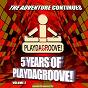 Compilation 5 years of playdagroove! recordings (volume 2) avec Manu XTC / Jason Rivas / Jason Rivas, Hot Pool / Elsa del Mar, Jason Rivas / Layla Mystic...