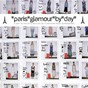 Compilation Paris glamour by day - a day in the stylish life of a fashion week supermodel avec Yoann le Dantec / Frédéric Vitani / Emma Morris / Aldo Giovanni / Mélody Prochet...