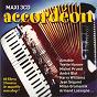 Compilation Maxi accordéon - 49 titres avec Anton Carretaz / Emmanuelle Richard / Carlos Rodríguez / Phil Bouvier / Christophe Jeanmougin...