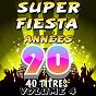 Compilation Super fiesta années 90, vol. 4 (40  titres) avec Cheb Kamir / The Top Orchestra / C. Wyllis Orchestra / Pop 80 Orchestra / Pop 90 Orchestra...