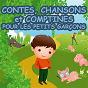 Compilation Contes, chansons et comptines pour les petits garçons avec Chansons Et Comptines / Junior Family / Robin des Bois / Pinocchio / Peter Pan