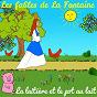 Album Les fables de la fontaine - la laitière et le pot au lait de Sidney Oliver