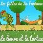 Album Les fables de la fontaine - le lièvre et la tortue de Sidney Oliver