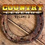 Compilation Country legends, vol. 3 avec Graham Bond / Ferlin Husky / Freddy Fender / Johnny Paycheck / Juice Newton...