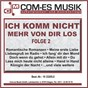 Compilation Ich komm nicht mehr von dir los, folge 2 avec Mendes, Mohn, Hofius / Martin Mendes & Margit Anderson / Margit Anderson / Feighofen / Peter Andree...