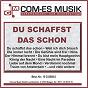 Compilation Du schaffst das schon avec Stefan Peters / Busse / Roy Rens / Schreiber, Sonberger, Brandes / Wuste Wustensohne...