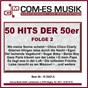 Compilation 50 hits der 50er, folge 2 avec Scharfenberger, Busch, Pinelli / Mascheroni, Feltz / Leila Negra & Peter Alexander / Peter Alexander / Burkhard, Amstein...
