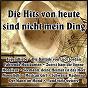 Compilation Die hits von heute sind nicht mein ding avec Coben, Bartels / Henning, Lasch / Ute Freudenberg / Blum, Flemke / Graham Bonney...