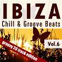 Compilation Ibiza chill & groove beats, vol. 6 avec Kurt Wöhle / Bernd Almus / Bandriss / Bob Schwarz, Jesse Funk / Schwarz & Funk...