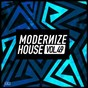 Compilation Modernize house, vol. 49 avec Floxyd / Peverell Bros, Sweet Female Attitude / Dario Martino, Angie Brown / Cev'S / Ombre...