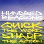 Album Quick the word sharp the action de Hundred Reasons