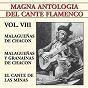 Compilation Magna antología del cante flamenco vol. VIII avec El Chocolate / Enrique Morente / Popular / Jacinto Almadén / Niuo de Las Moras...