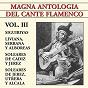 Compilation Magna antología del cante flamenco vol. III avec Agujetas el Viejo / Pepe de la Matrona / Popular / Gabriel Moreno / Manolo Frenegal...