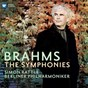 Album Brahms: symphonies nos 1-4 de Sir Simon Rattle / L'Orchestre Philharmonique de Berlin