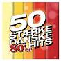 Compilation 50 stærke danske 80'er hits avec De Nattergale / Sebastián / Laid Back / Anne Dorte Michelsen / Laban...