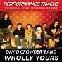 Album Wholly yours (performance tracks) - ep de David Crowder