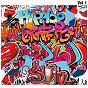 Compilation Hip hop graffiti, vol. 1 avec Asher D / M.C. Duke / Derek B. / Demon Boyz / Professor Griff...