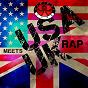 Compilation USA meets UK rap avec Da Hoodzmen / Standing Ovation / Daddy Freddy / The Demon Boyz / Professor Griff...