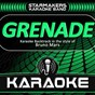 Album Grenade (karaoke backtrack originally performed by bruno mars) de Starmakers Karaoke Band