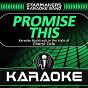 Album Promise this (karaoke backtrack originally performed by cheryl cole) de Starmakers Karaoke Band